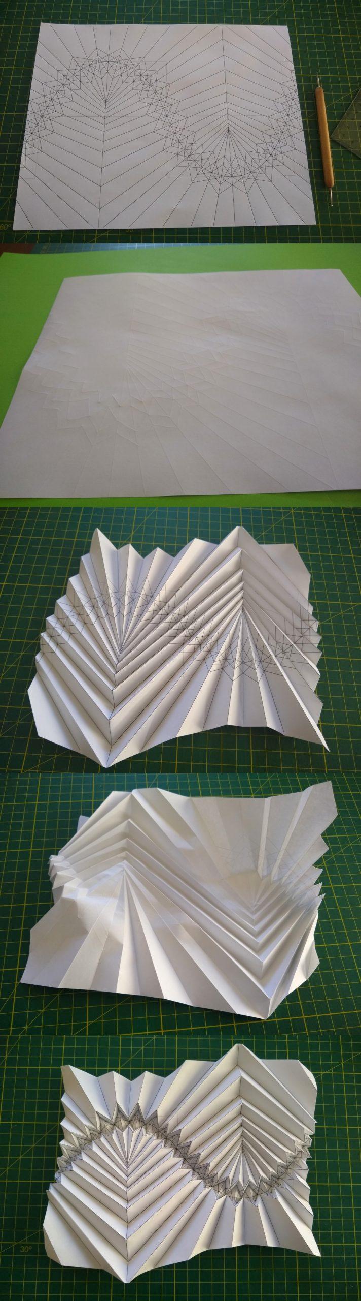 flat-folding sine wave-based corrugation - dev