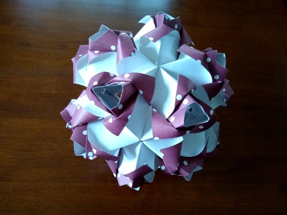 Maria Sinayskaya Little Roses Kusudama