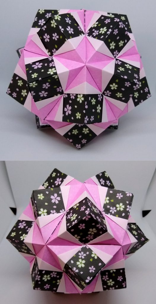 Star Pocket Kusudama views