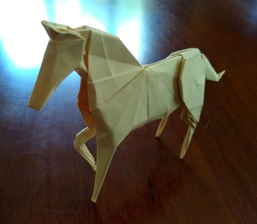 Hideo Komatsu's Horse