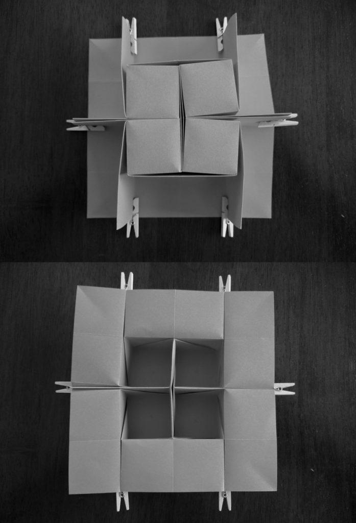 Cubes by Ilan Garibi 2x2 molecules
