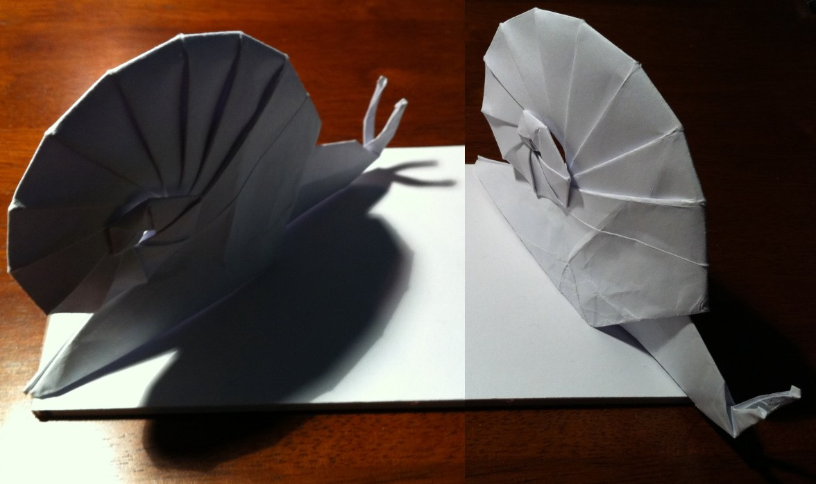 Can't Make it to the Beach? Try Folding these Origami Seashells! | 698x1176