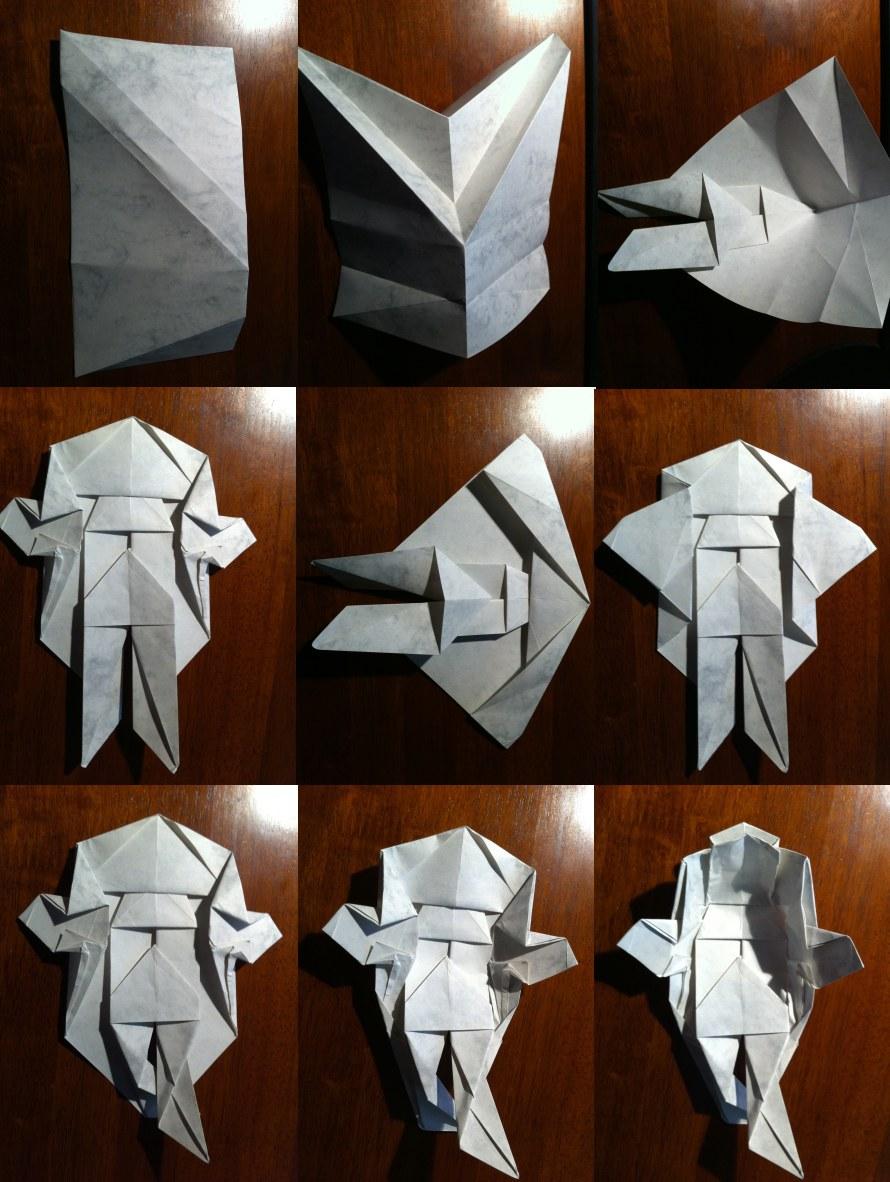 Origami Beautiful Koi Fish Folding Instructions | Origami ... | 1182x890