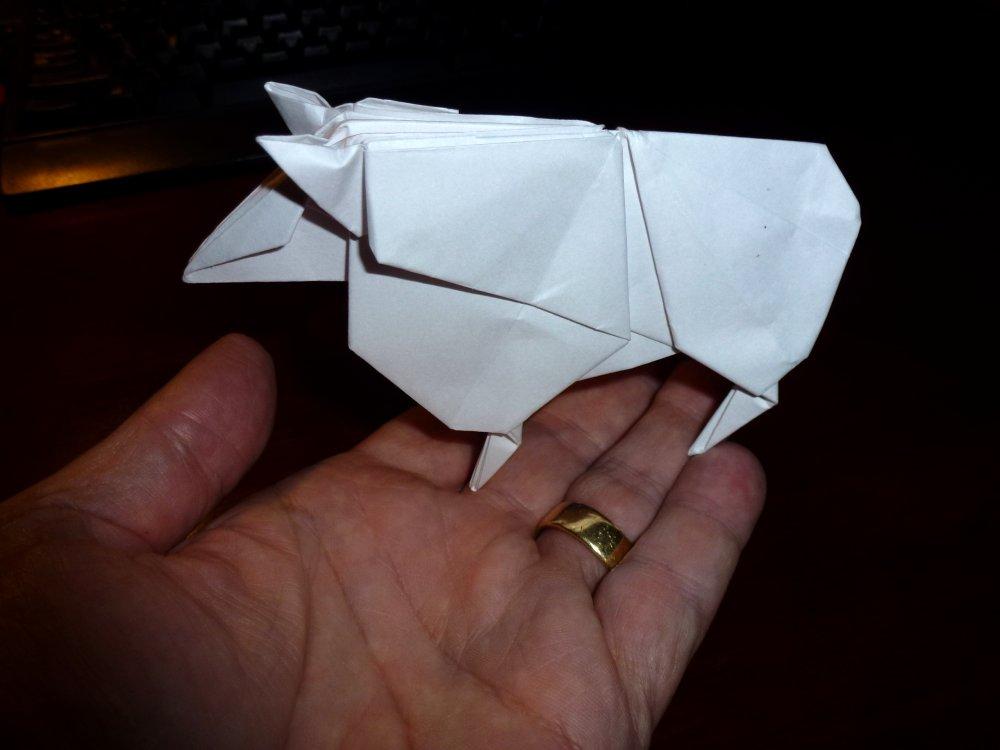 Blade Runner origami unicorn instruction http://www ... | 750x1000