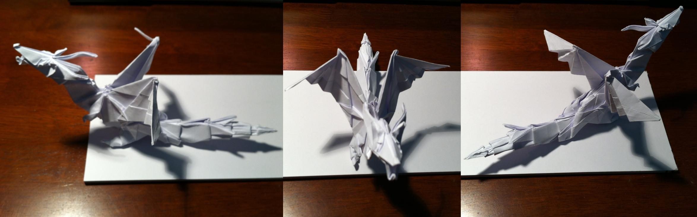 Kade Chan Origami Blog 香港摺紙工作室 (日誌): Fiery Dragon ... | 732x2349