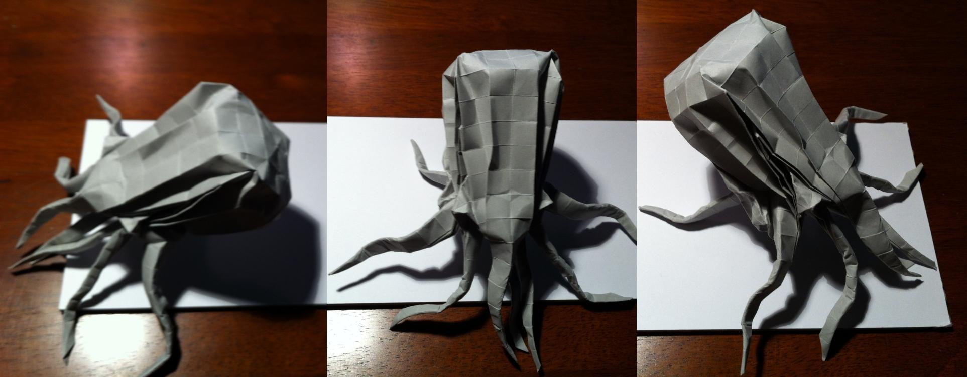 100 327 Best Kraken Octopus Images Origami