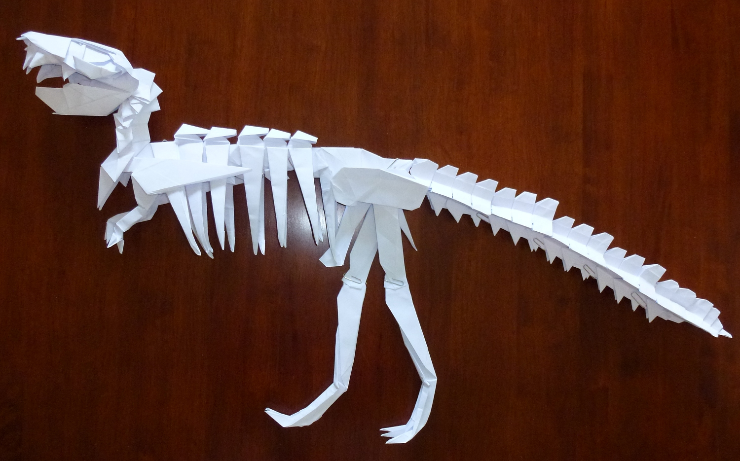 This Monolithic Modular Is Yoshinos T Rex Skeleton