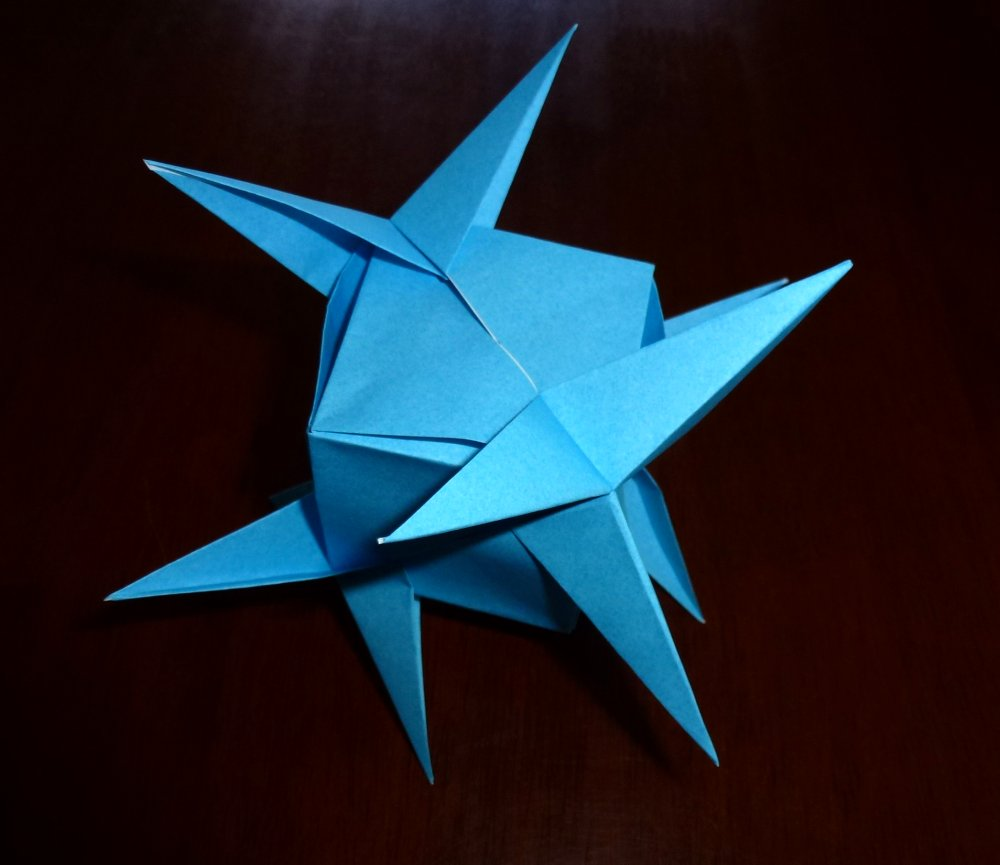 How to Make Origami Ninja Assassin Star | DIY Paper Crafts ... | 865x1000