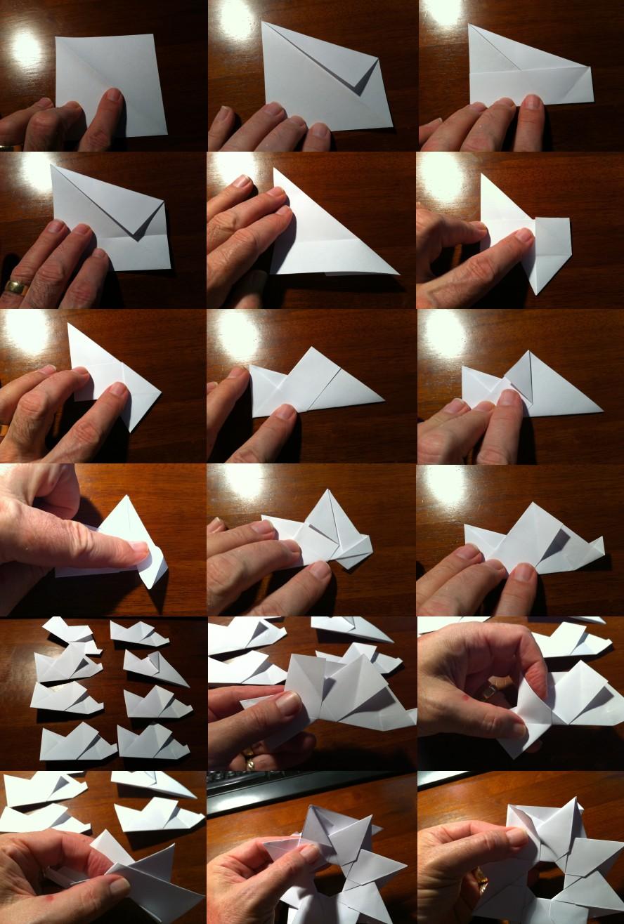 Origami Maniacs: Robin Star by Maria Sinayskaya | 1316x888