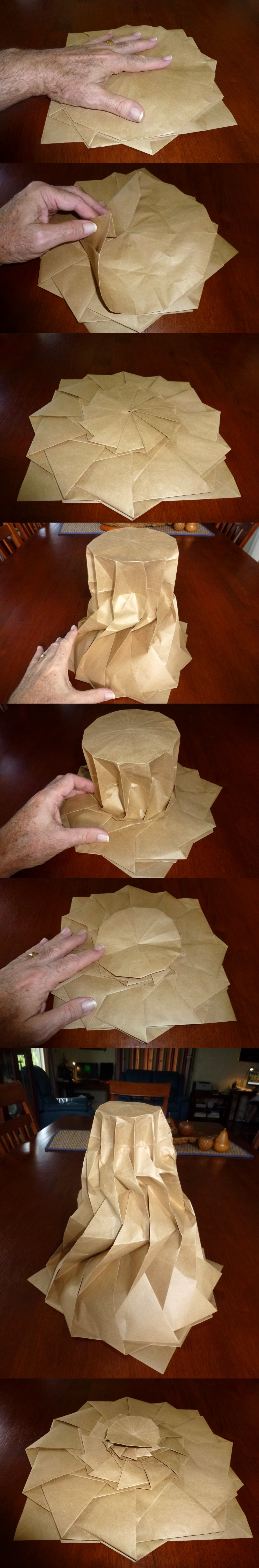 Origami Stackbox Tutorial - Stackable Boxes | Cute origami ... | 6064x1000