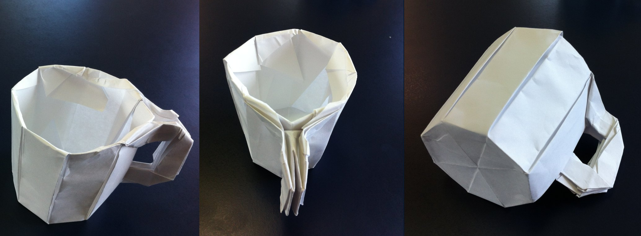 Origami How To Make A Teacup Youtube 385 Beer Mugteacup Setting The Crease