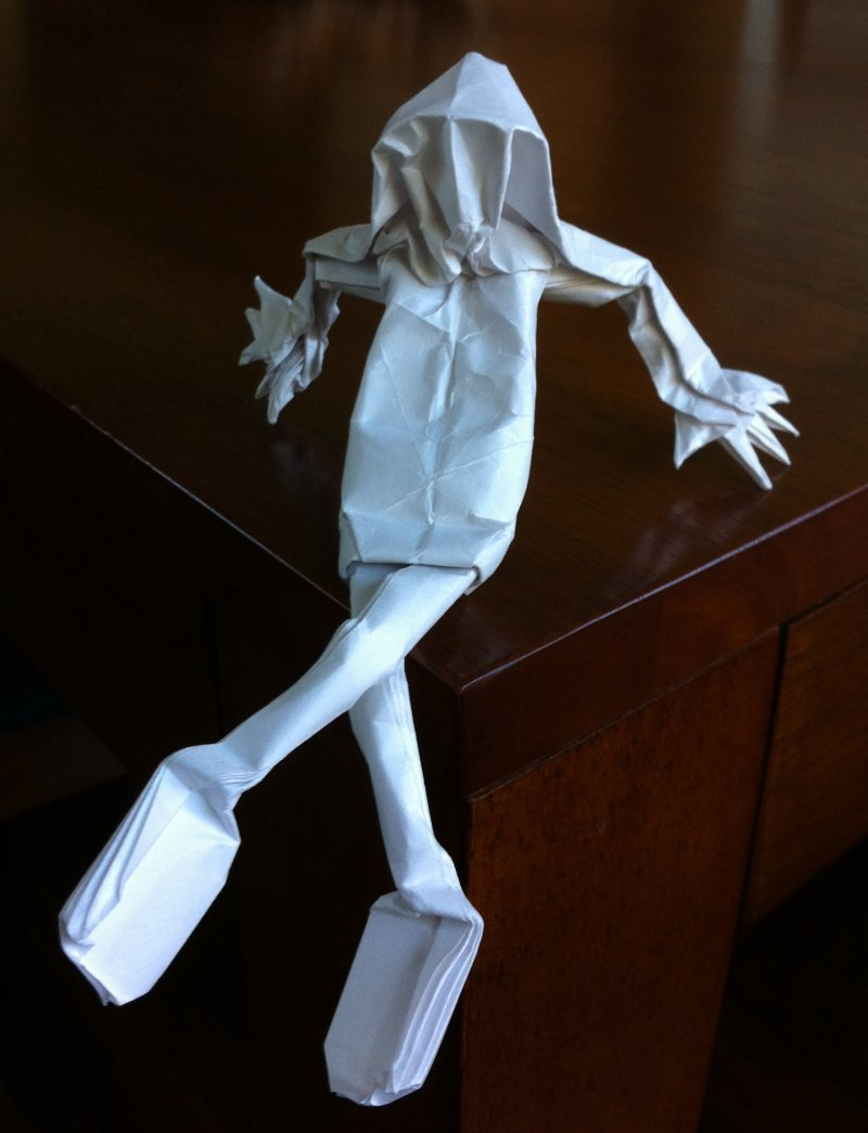 Lots of Really Cool Different Kinds of Origami People | 1045x800