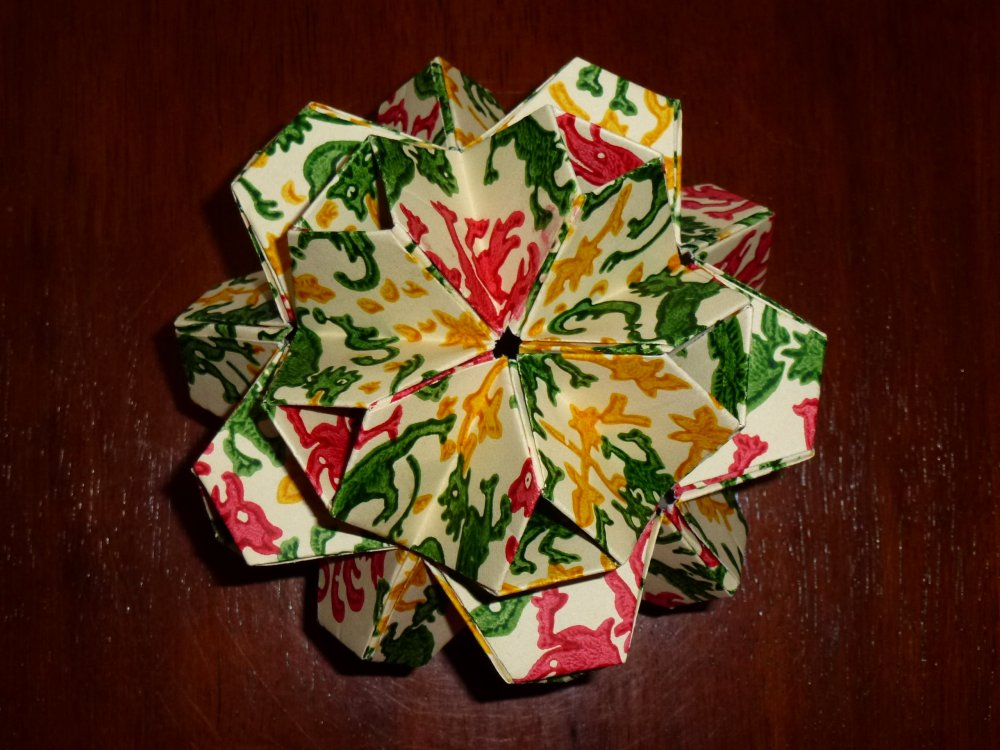 486LittleTurtleKusudama