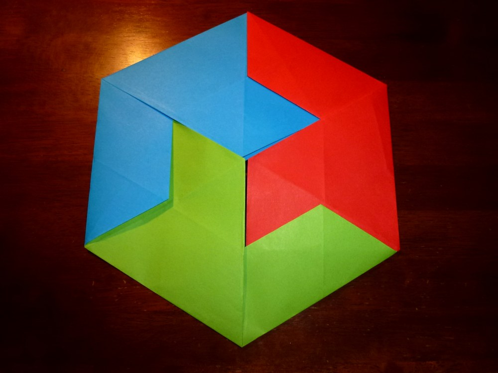 How to Fold Origami Paper Cubes - Frugal Fun For Boys and Girls | 750x1000