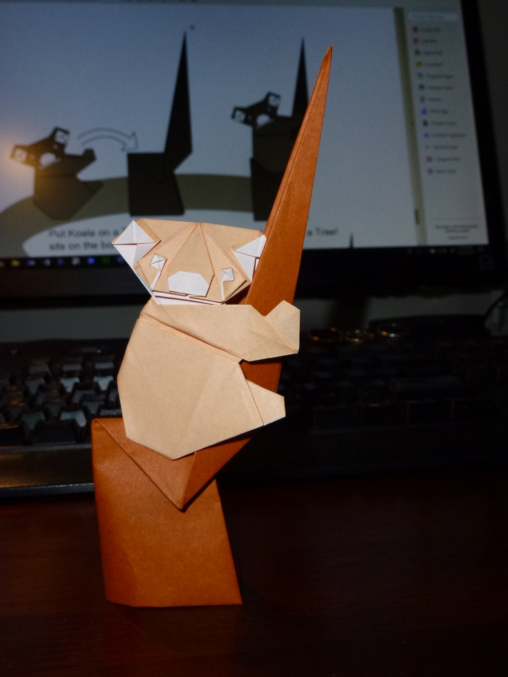 How to Make an Origami Koala Face Step by Step Instructions   Free ...   1333x1000