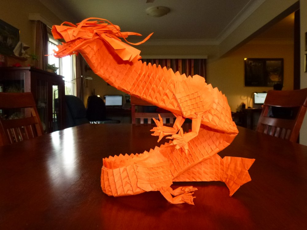 Origami FISH by Eric Joisel (part 1 of 2) | Origami easy, Origami ... | 750x1000