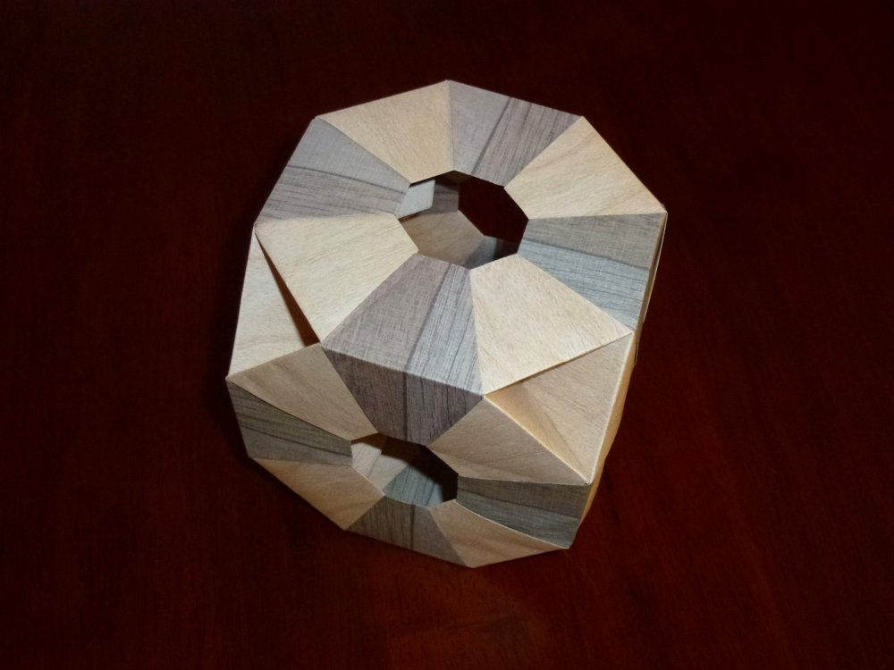 Tomoko Fuse's Truncated Hexahedron