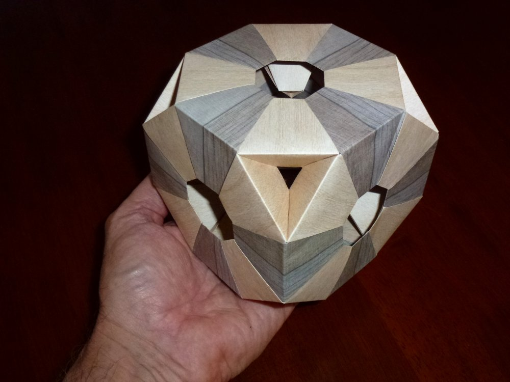 Tomoko Fuse's Truncated Hexahedron scale