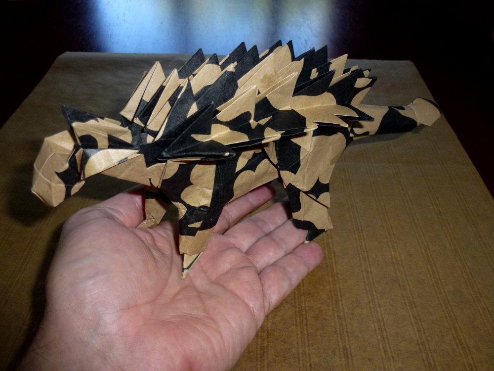 Tetsuya Gotani's Ankylosaurus scale