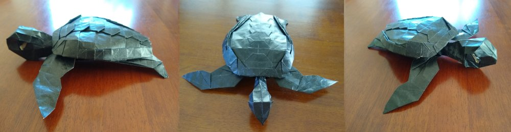 green Turtle designed by  Jang Yong Ik