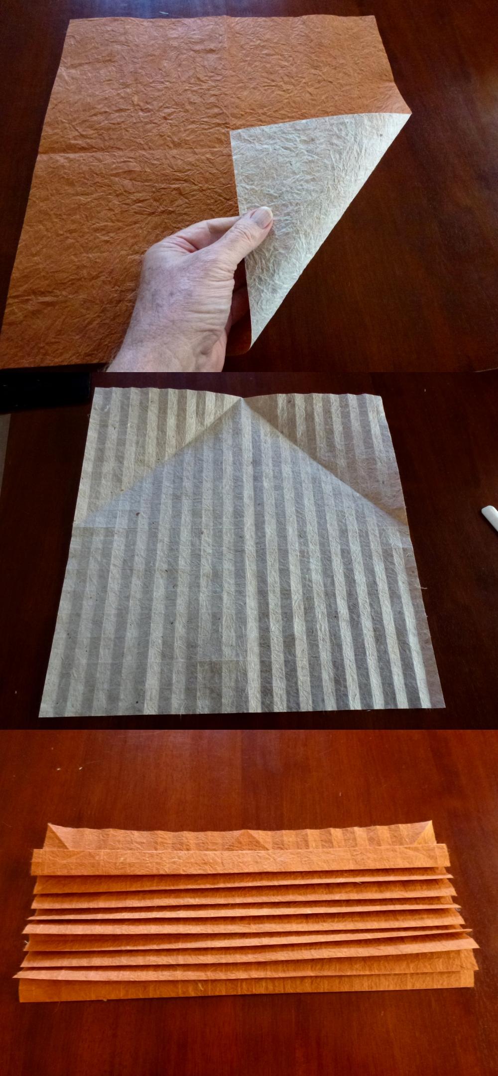 Yudai Imai's hedgehog paper - OrigamiShop's duo Unryu