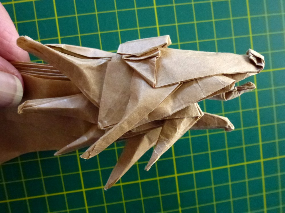 27 Spectacular Western-Style Origami Dragons | 750x1000