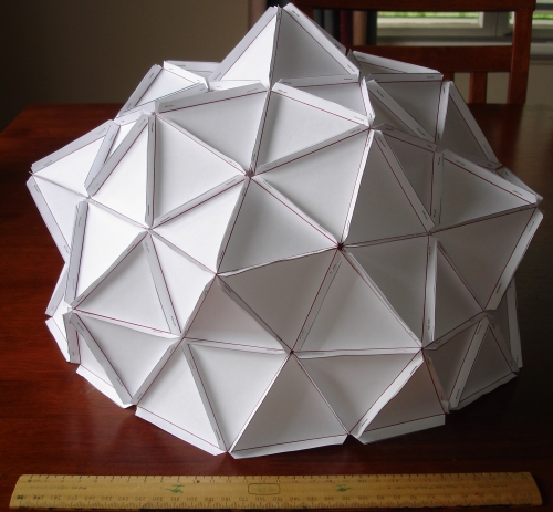 100 triangles later, a dome