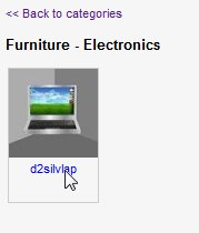 object - category - list
