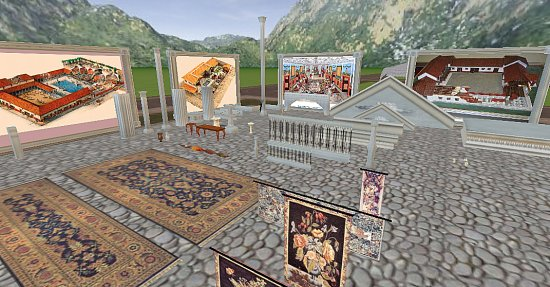 accessories galore, Persian carpet sale?