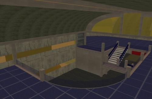 Entry, Mezzanine, Level 2